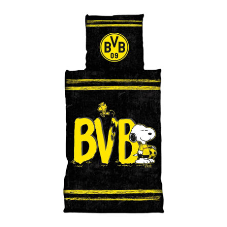 BVB Snoopy-liinavaatteet (135 x 200 cm)