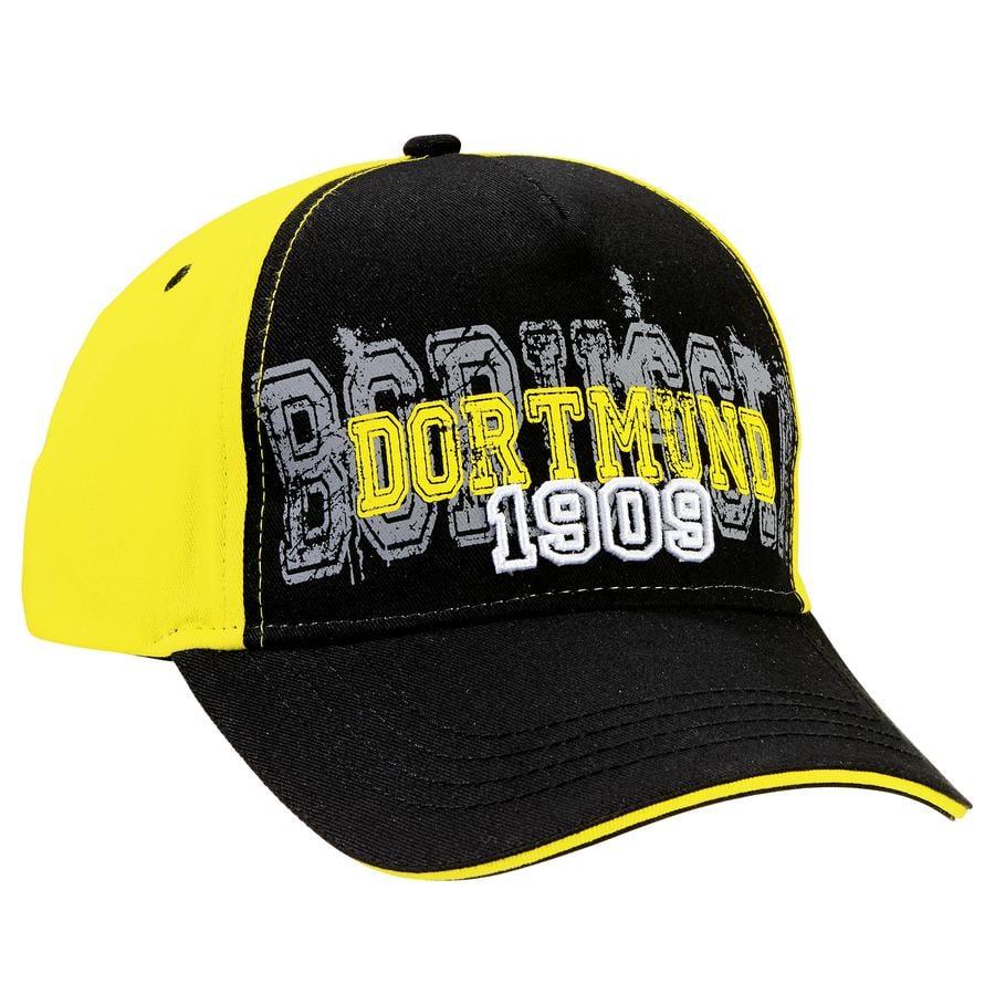 BVB 1909 czapka czarny żółty dla dzieci