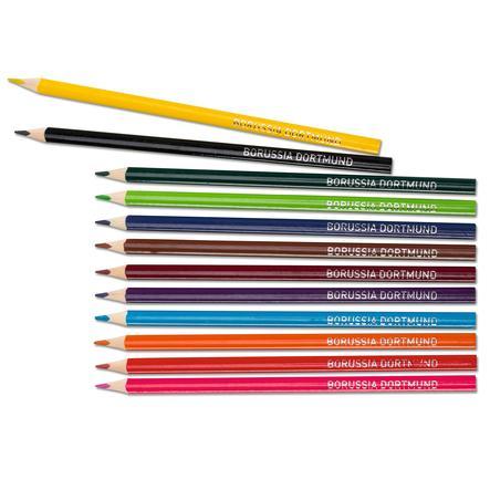 BVB färgade pennor