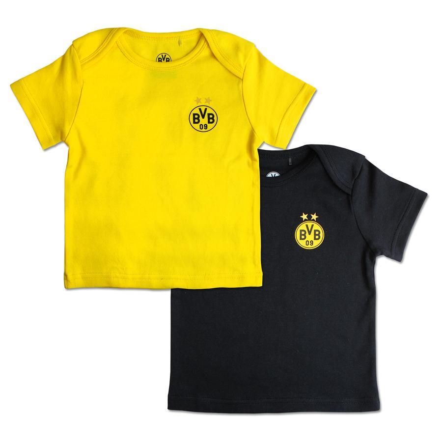 Zestaw koszulki dziecięcej BVB po 2 szt.