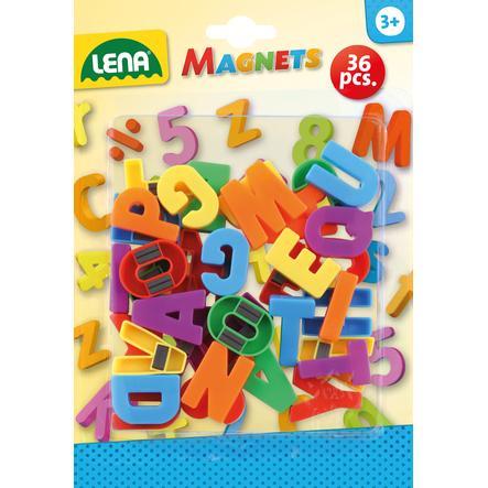 LENA® Grandes Lettres aimantées 65745