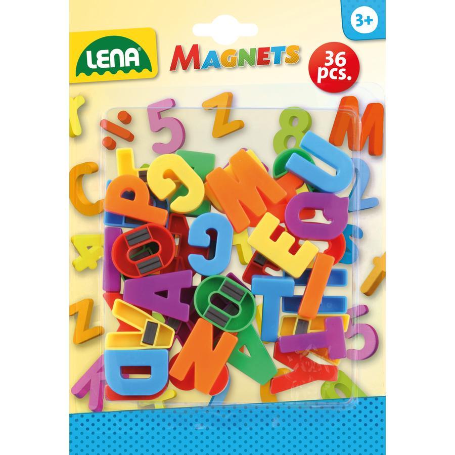 SMG LENA Magnetbokstäver stora bokstäver