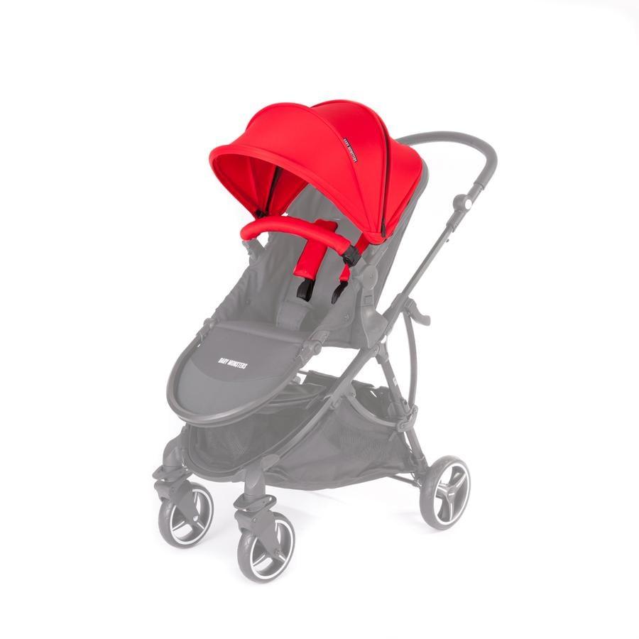 BABY MONSTERS Zestaw kolorystyczny do wózka Globe, Red