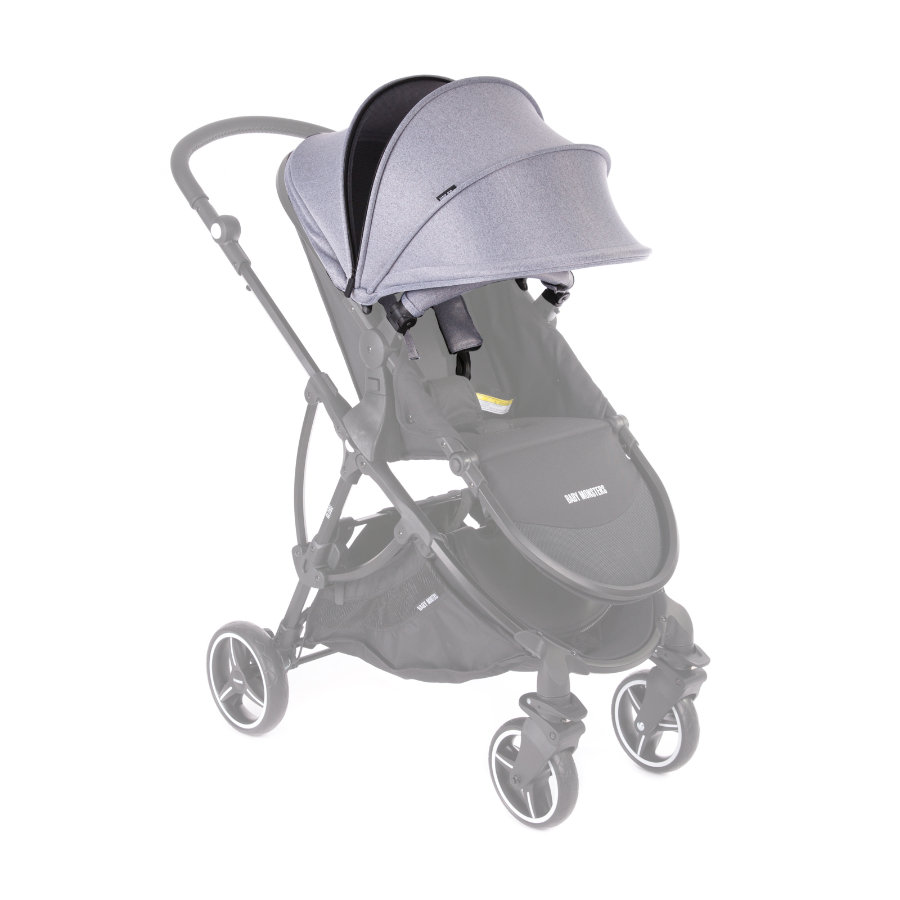 BABY MONSTERS Pack couleur pour poussette Globe gris heather 2019