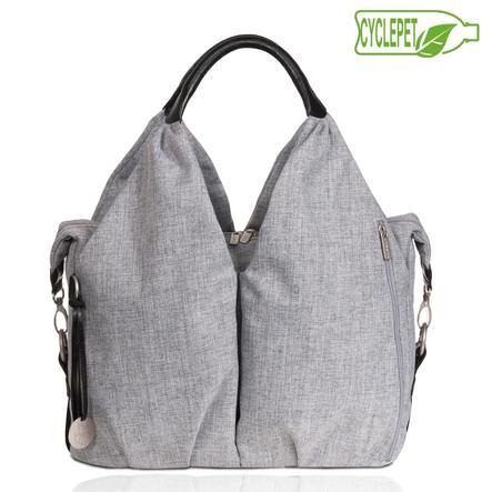 "LÄSSIG Bolso Neckline Bag ""Green Label"", negro melange"