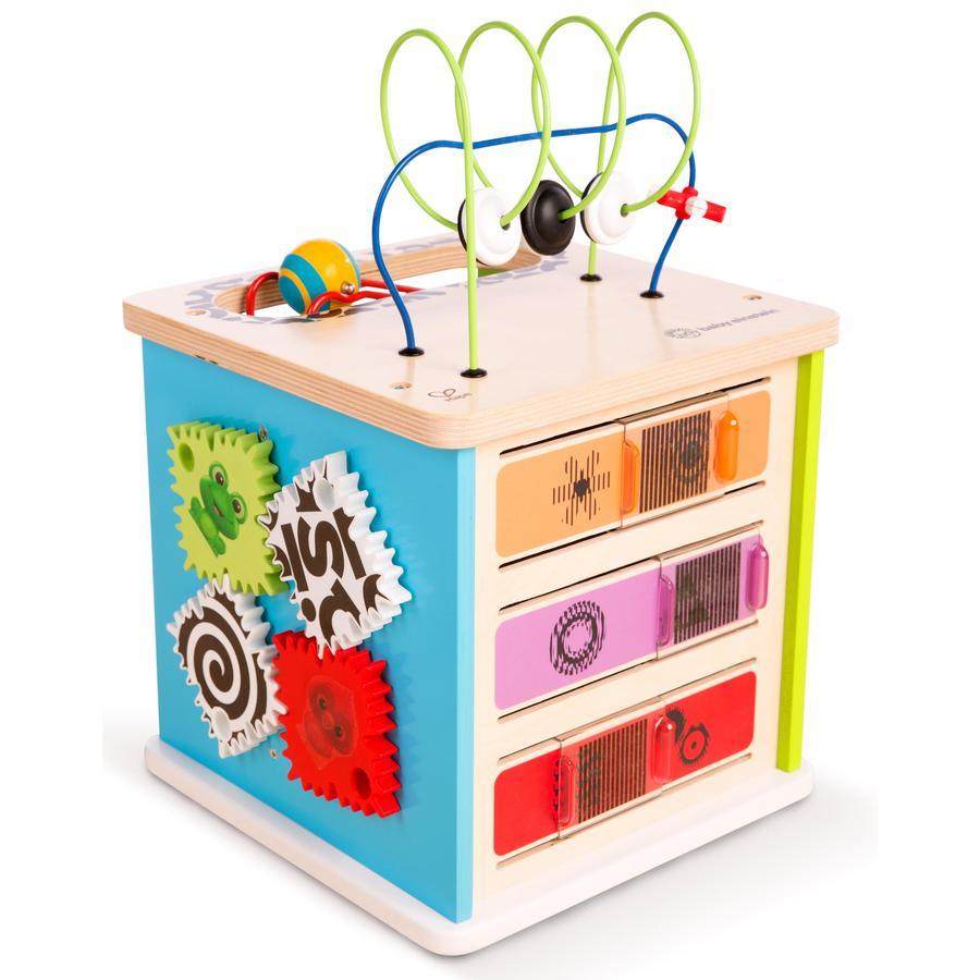 Hape Cube de motricité premières expériences bois E11656