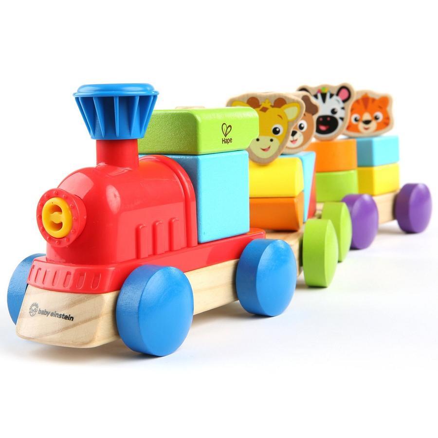 Hape Train découverte animaux bois E11715