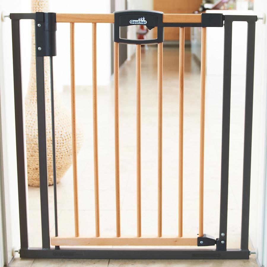 GEUTHER Easylock Wood Türschutzgitter 80,5-88,5cm (2792)