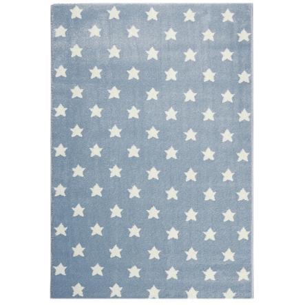 LIVONE Kids Love Rugs Unelma tähtipeli ja lasten matto - siniharmaa / valkoinen 120 x 170 cm