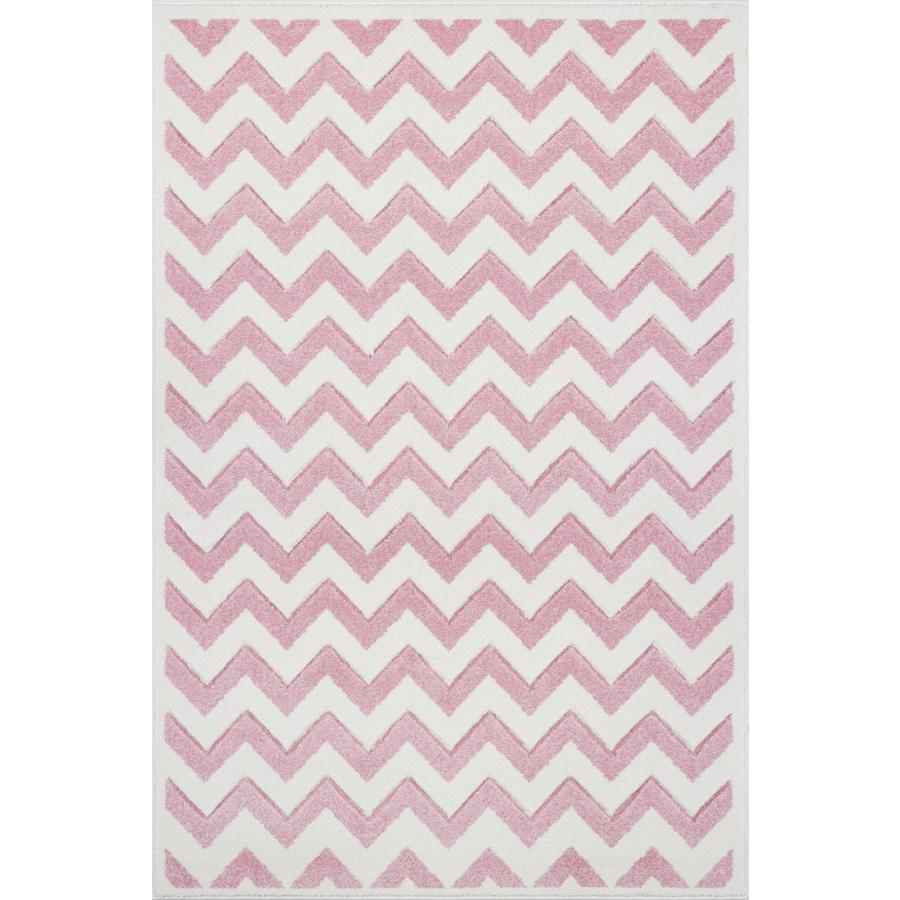 LIVONE Tapijt Kids Love Rugs Linus - roze/wit, 120 x 170 cm