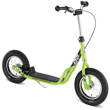 PUKY Scooter with pneumatic tyres, kiwi 5432