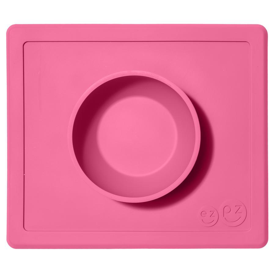 ezpz™ Happy Bowl Essmatte pink rutschfest