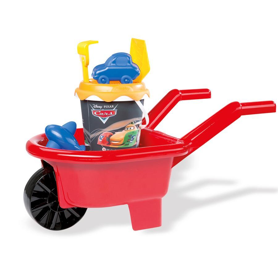 Smoby Disney Pixar Cars - Schubkarre und Eimergarnitur mittel