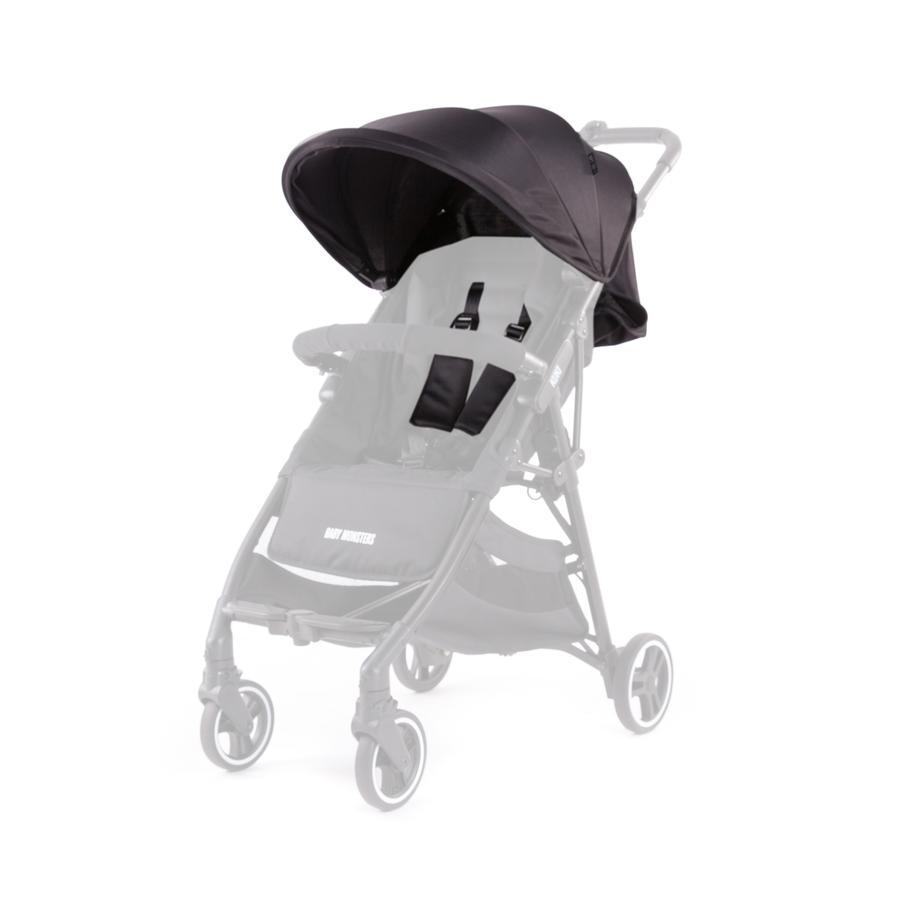 BABY MONSTERS Zestaw kolorystyczny do wózka Kuki Single, Black