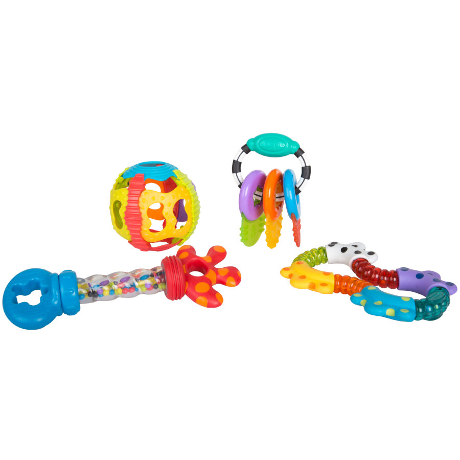 playgro Activity Rattle a kroužek na kroužek dárkový set