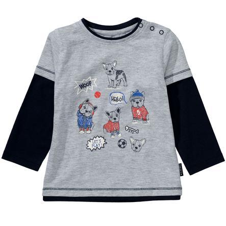 STACCATO  Chlapecká košile light grey melange