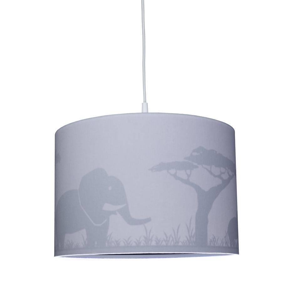 WALDI Přívěsek šedá Silhouette Elephant 1-flg.