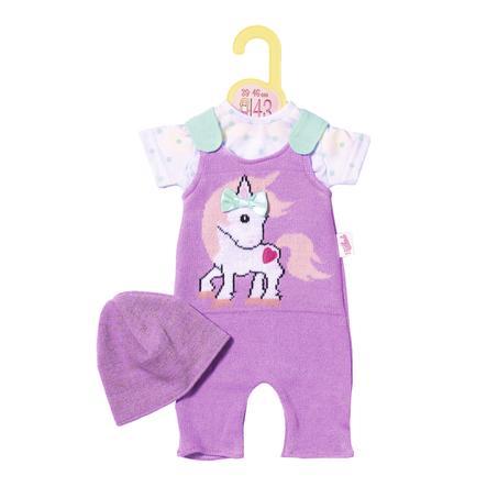 Zapf Creation  Tutina in maglia Dolly Moda con cappuccio, 43cm