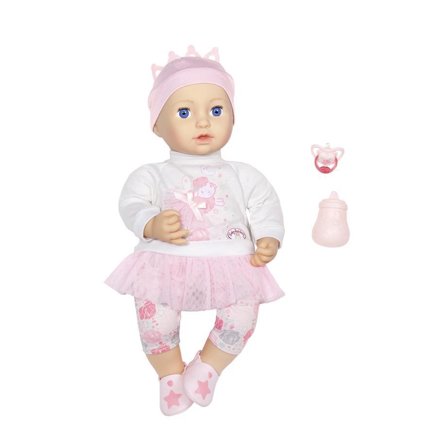 Zapf Creation Baby Annabell® Muñeca Sweet Dreams Mia 43 cm, hora de dormir