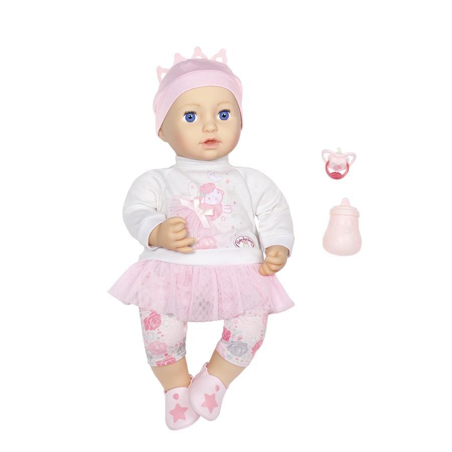 Zapf Creation Baby Annabell® Sweet Dreams Mia 43 cm, con occhi che si chiudono