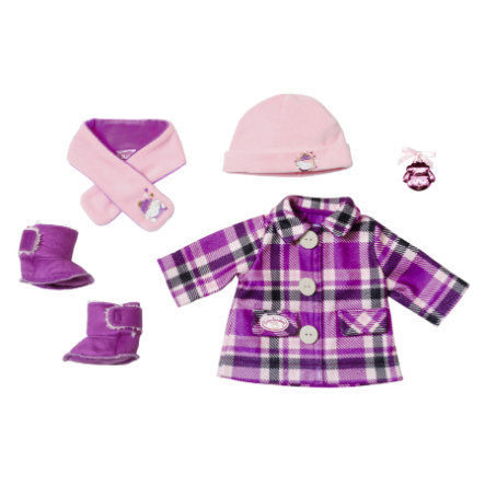 Zapf Creation  Zestaw płaszcza dla niemowląt Annabell® 43 cm