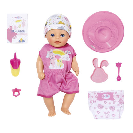 Zapf Creation BABY born® Poupon Soft Touch Little Girl 36 cm