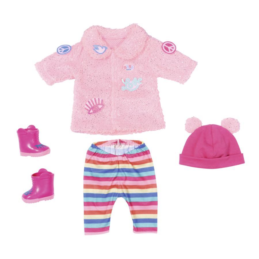 Zapf Creation BABY born® Cappottino con glitter Trend 43 cm