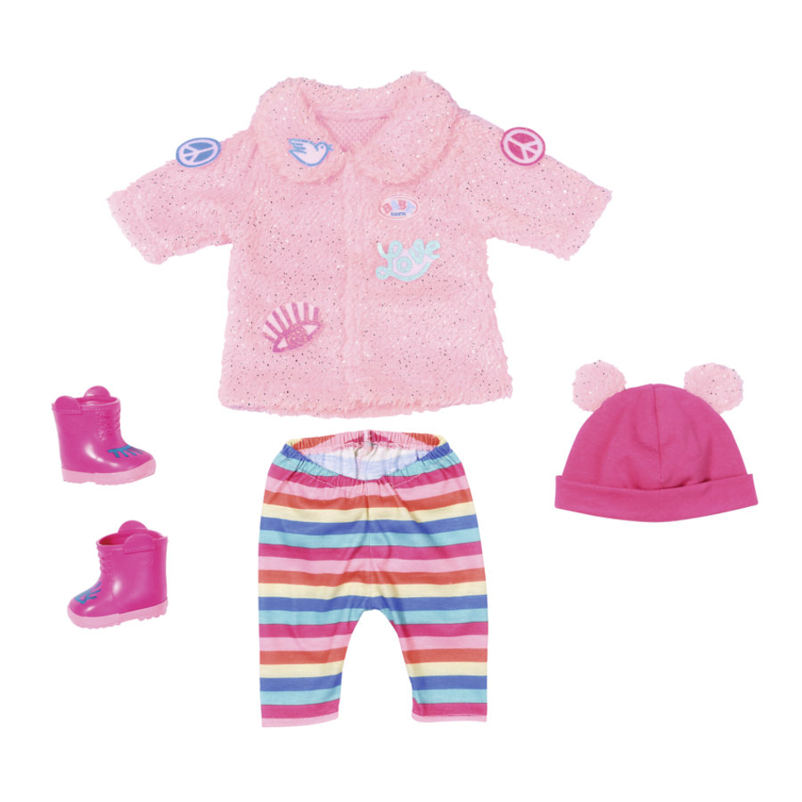 Zapf Creation Baby born® Trend Glitter Coat 43 cm