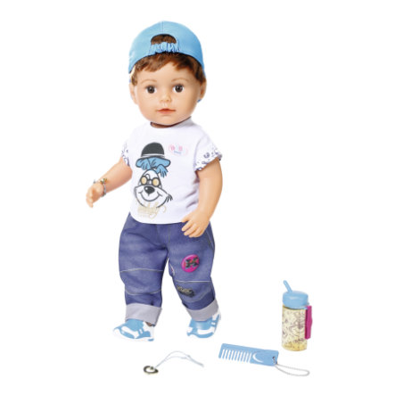 Zapf Creation BABY born® Poupée Soft Touch frère 43 cm