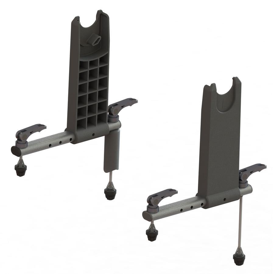 Qeridoo® Adapter Babyschale für Kinderfahrradanhänger