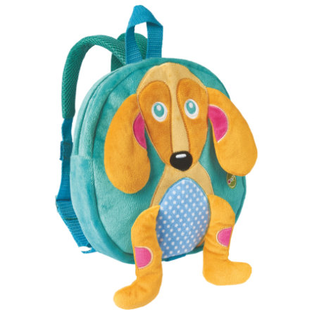 Bino Plüsch-Rucksack, Hund