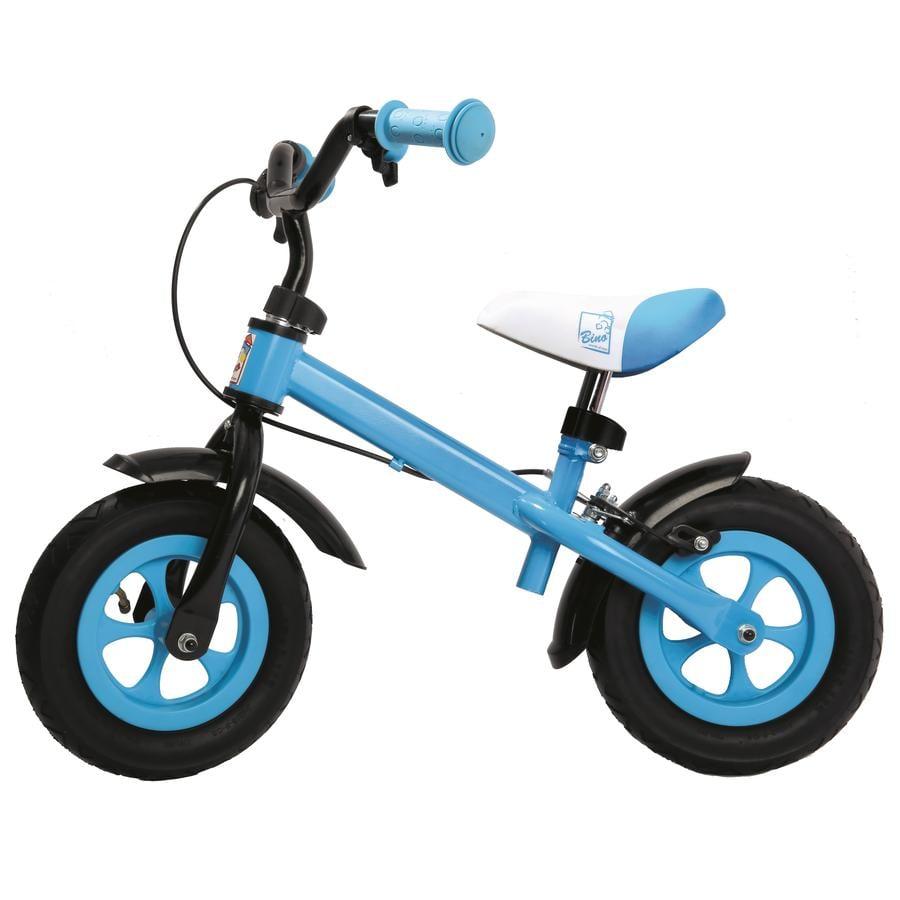 Bino Biciclette senza pedali in metallo blu