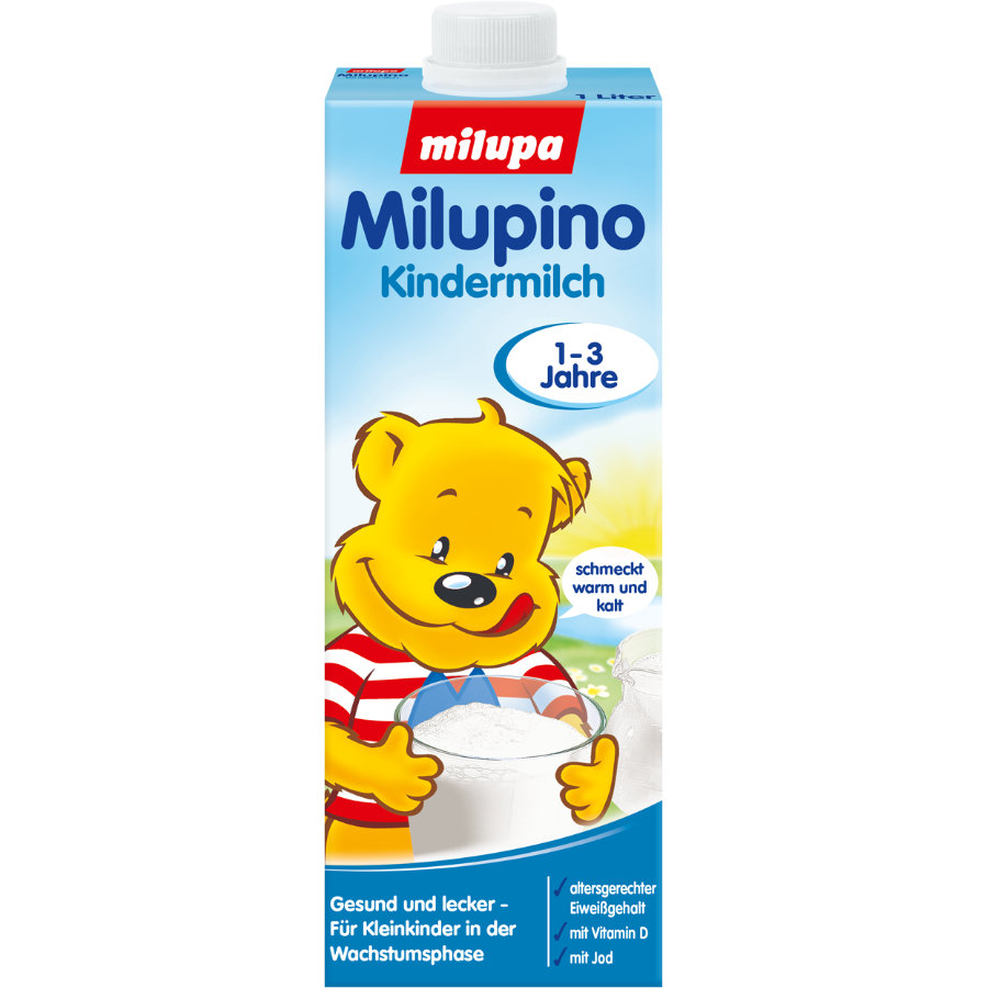 Milupa Kindermilch Milupino trinkfertig 1 l 1 bis 3 Jahre
