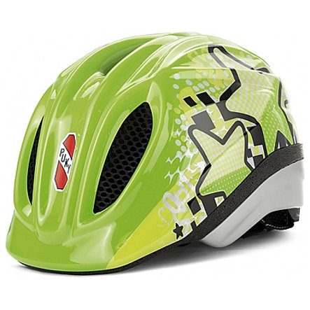 PUKY Casco PH1 per bicicletta, kiwi Taglia: S/M