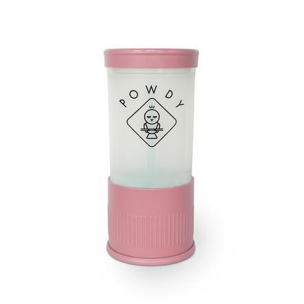 POWDY Boîte doseuse de lait en poudre PP, inserts interchangeables rose