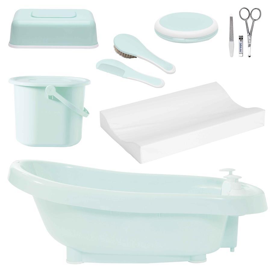 bébé-jou® Set bagnetto e cura De Luxe menta (a partire dalla nascita)