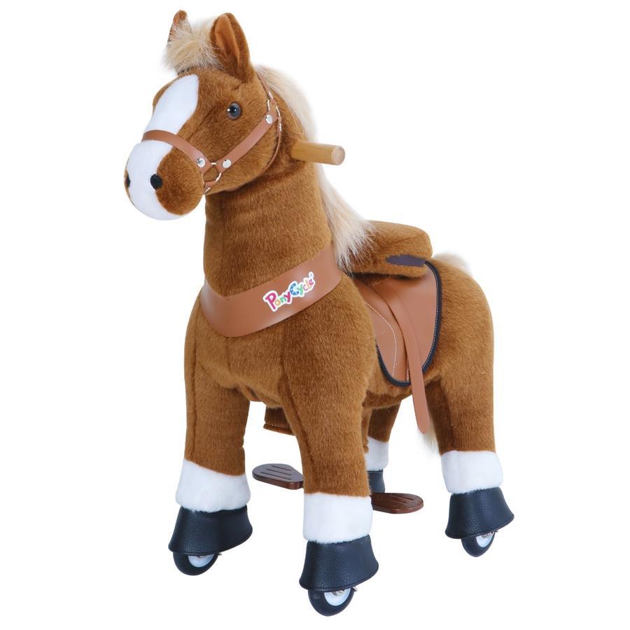 PonyCycle® Cheval à monter enfant brun, petit