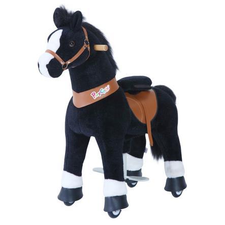 PonyCycle® Häst, svart, medelstor
