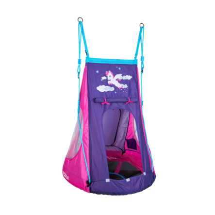 HUDORA® Nestschaukel Pony LED 90, pink/violet 72149