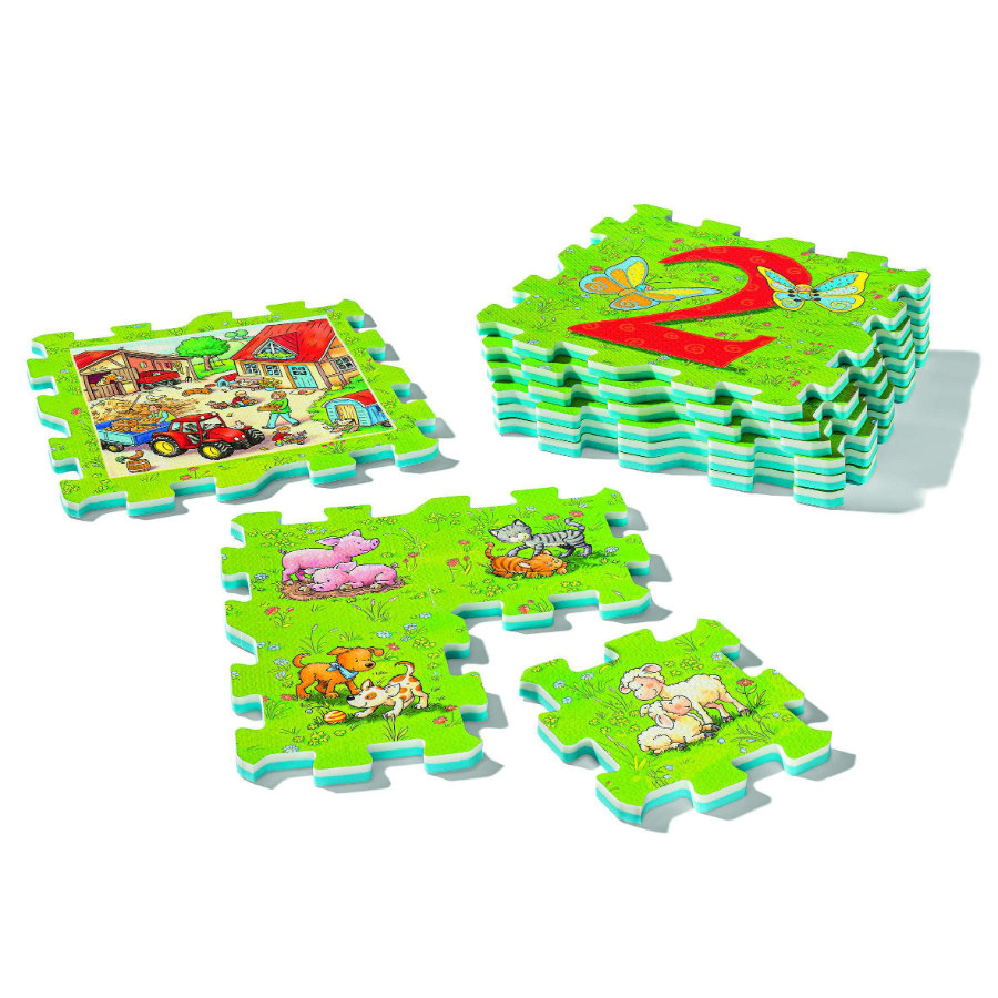 Ravensburger Ma first pièce Puzzles - Ferme