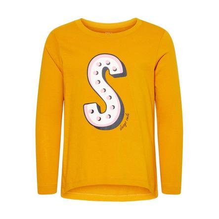 name it Langærmet skjorte NMFVIOLET golden orange