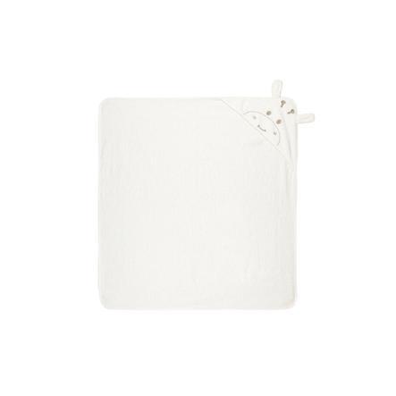 name it Badhanddoek met kap Numerieke hoeveelheid sneeuw white