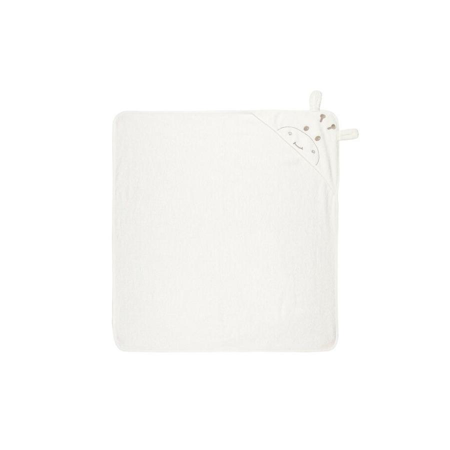 name it Ręcznik kąpielowy z kapturem Numeryczny śnieg white