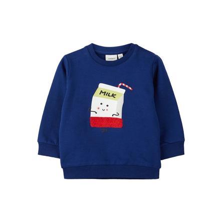 name it Jongens Sweatshirt Kegan blauw dephts