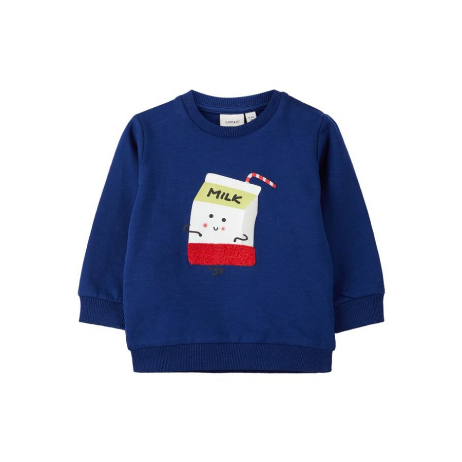 name it Boys Sweatshirt NBMKEGAN blue dephts