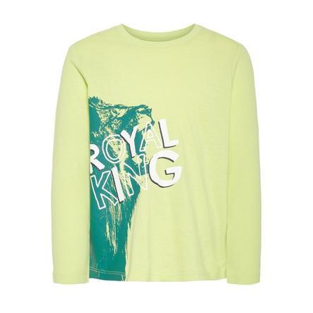 name it Langermet skjorte for gutter NMMVAGNO daiquiri grønn