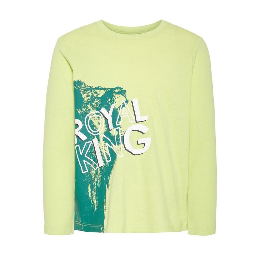 name it Chłopcy koszula z długim rękawem Vagno daiquiri green