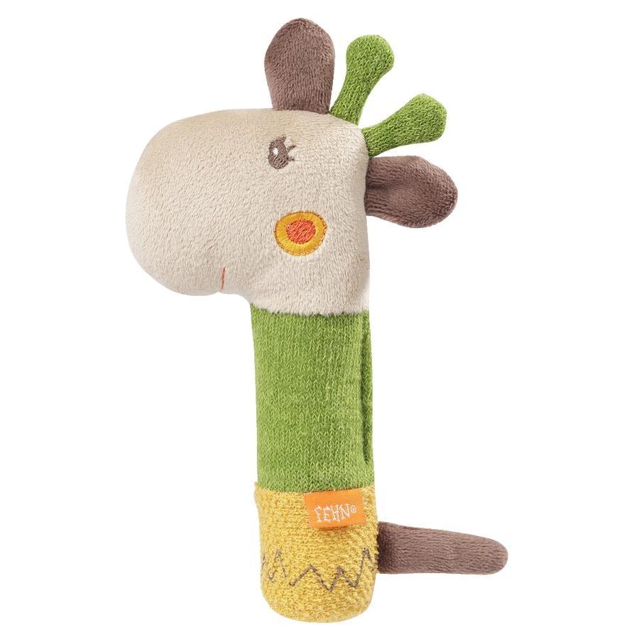fehn® Loopy & Lotta Gripleksak Giraff