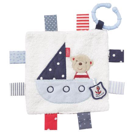 fehn Ocean Club crackle-kangas teddy renkaalla