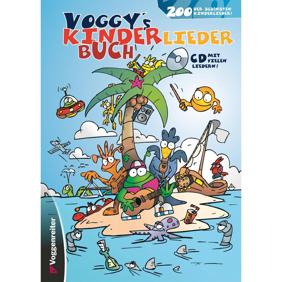 Voggenreiter Voggy´s Kinderliederbuch, mit CD
